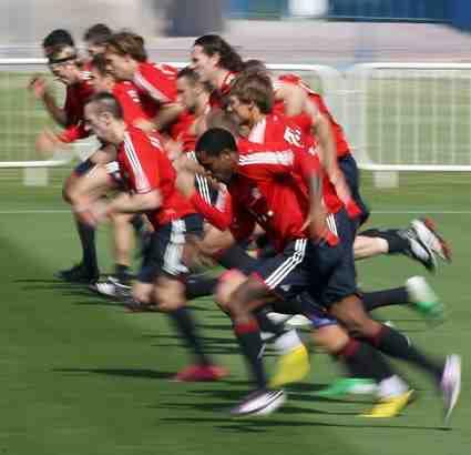 Fussball_Schnelligkeit_Ausdauer_Training